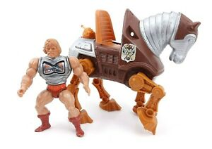 Playmates 1984 Armor He Man Figure with Mechanical Horse Masters Of The Universe