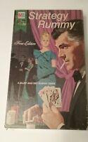 Milton Bradley Vintage Strategy Rummy Fine Edition Game Complete 1968  :)
