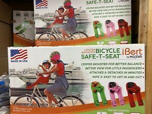 Kazam iBert Bicycle Safe-T-Seat, Green Child Seat, MAKE OFFER