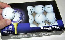 15 Srixon Q-star Tour golf balls white Aaaaa grade Lot 96004