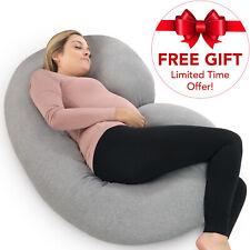 PharMeDoc Pregnancy Pillow + Travel Bag Maternity Body Pillow for Pregnant Women