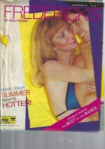FREDERICK's of Hollywood 1981 Catalog Make Summer Nights Hotter Very RARE