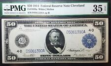 Fr 1039a 1914 $50 Federal Reserve Note Cleveland VF35 EPQ