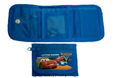 Disney Cars 2 Lightning McQueen Francesco Tri Fold Kids Wallet