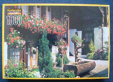 jigsaw puzzle 1000 pc KODACOLOR Flower Bedecked House Bern Switzerland