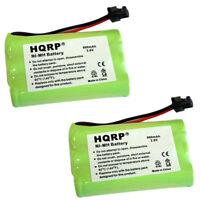 2 X HQRP Telefon Batterie für Uniden TRU9460 TRU9465 TRU9466 TRU9485 TRU9485 2/