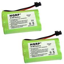2x HQRP Phone Battery for Uniden TRU9460 TRU9465 TRU9466 TRU9485 TRU9485-2 / -3