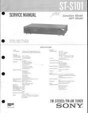 Sony Original Service Manual per ST-S 101