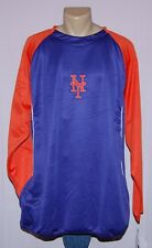 Majestic New York Mets Therma Base Tech Fleece Long Sleeve Pullover 5XL