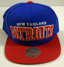 NFL New England Patriots Mitchell and Ness Vintage Snapback Cap Hat M&N NEW!