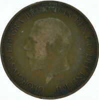 1936 HALF PENNY OF GEORGE V.     #WT16171