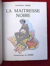 CURIOSA La maitresse noire par Louis Charles ROYER illustré SCHEM 1928 N°   2