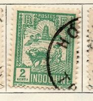 Indo China 1927 Early Issue Fine Used 2c. 140149
