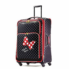 American Tourister Disney Minnie Mouse Red Bow Softside Spinner 28 Multi One