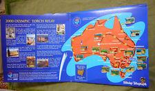 #WW.  SYDNEY 2000 OLYMPIC TORCH RELAY PINS &  ALBUM