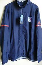 Nhl Adidas New York Rangers Hockey Full-Zip Rink Jacket 2Xl Nwt 115Ga