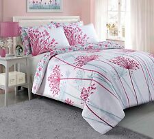 Meadow Floral Luxury Duvet Covers Quilt Cover Reversible Bedding Sets All Sizes