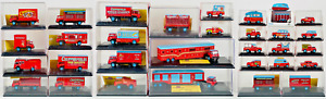 OXFORD DIECAST 1/76 - CHIPPERFIELDS CIRCUS MASS JOB LOT OF 32 VEHICLES - BOXED