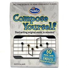 Thinkfun Compose Yourself Music Card Game Musician Learning Memory Skill Cards