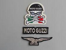PATCH MOTO GUZZI KIT 3 PEZZI RICAMATE TERMOADESIVE -COD.421