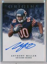 ANTHONY MILLER - 2018 Origins Blue Ink AUTO - Chicago Bears RC