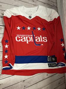 NWT Fanatics Washington Capitals Red Alternate Jersey Size 3XL