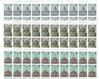 S34685 San Marino 1976 MNH USA Bic.3v Full Sheet not Folded