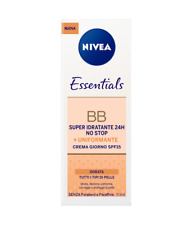 NIVEA ESSENTIALS BB CREAM IDRATANTE DORATA 50 ML UNIFORMANTE CREMA GIORNO