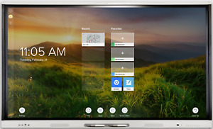 "Brand New 65"" SMART Board MX065-V2 interactive display with iQ White SBI-MX265"