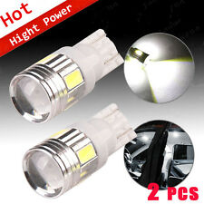 2PCS T10 921 21W NON CANBUS Wedge Xenon White 6-SMD LED Side/Backup Lights Bulbs