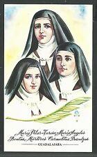 holy card Martires Guerra Civil Española image pieuse  santino estampa