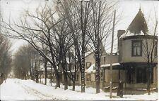 Putnam Street looking South, Tunkhannock PA RPPC Real Photo Vintage unused