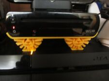 Nintendo Wii U Horizontal Stand with Zelda Hyrule Crest 3D Printed