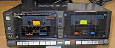 Vintage Technics Doble Cassette Deck Modelo Rs-1w 1982 cinta HIFI RETRO Japón
