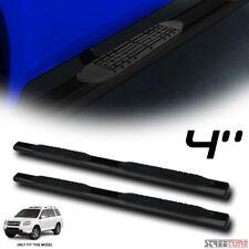 "4"" Heavyduty Black Side Step Nerf Bars Rail Running Boards 03-08 Pilot/01-06 Mdx"