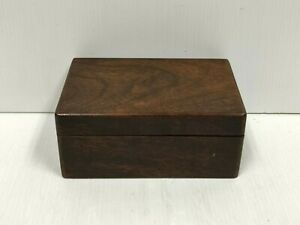 Vintage/Antique Little Wooden Trinket Box