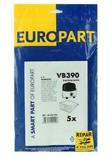 VB390 Europart Dustbags Numatic 200 , Henry 1B/C , 5 Pack