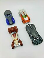 Hot Wheels Star Wars Obi-Wan Luke Emperor Palpatine  Kylo Ren Lot of 4