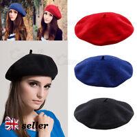 Fashion Women Warm Wool Girl Beret French Artist Beanie Hat Ski Cap Gift New