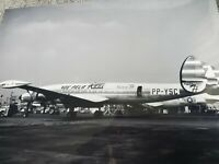 Lockheed L-1049 Super H Constellation REAL Airlines Photo Color 8×10 Vintage