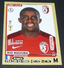N°159 RIO MAVUBA LILLE LOSC DOGUES PANINI FOOTBALL FOOT 2015-2016