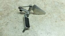 97 Honda CBR 1100 CBR1100 XX Blackbird front left foot rest peg & lowering mount