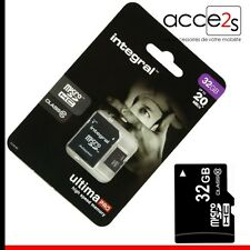Carte Mémoire Micro SD 32 Go classe 10 Pour SAMSUNG