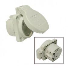 Anbau-/Einbau-Schuko-Steckdose 16A 250V IP54 grau v.PCE 105-0g