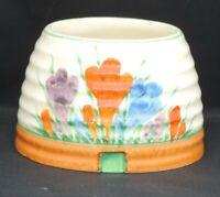 Clarice Cliff pot in the crocus pattern
