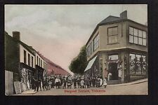 Treharris - Bargoed Terrace - colour printed postcard