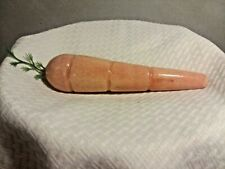 Italian Marble Alabaster Stone Fruit Vegetable CARROT Bought in Italy in 60's