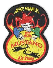 Army Patch:  Task Force Mustang, Air Plans OIF 06-08