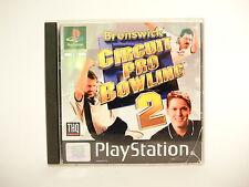 BRUNSWICK CIRCUIT PRO BOWLING 2 complete w box & manual PAL PS1 Playstation 1