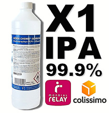 ⭐ 1 LITRE | IPA 99.9% PURE | ALCOOL ISOPROPYLIQUE / ISOPROPANOL | 1L / 1000ML